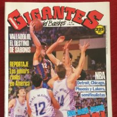 Coleccionismo deportivo: REVISTA GIGANTES DEL BASKET # 186 AÑO 1989 NBA POSTER MARK JACKSON. Lote 244752155