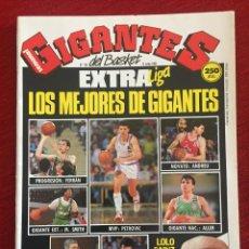 Coleccionismo deportivo: REVISTA GIGANTES DEL BASKET # 188 AÑO 1989 NBA POSTER AUDIE NORRIS. Lote 244752370