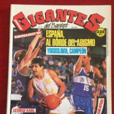 Coleccionismo deportivo: REVISTA GIGANTES DEL BASKET # 191 AÑO 1989 NBA POSTER EPI. Lote 244753340