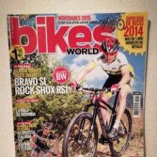 Coleccionismo deportivo: REVISTA - BIKES WORLD NUMERO 11 - BICICLETA - BICI DE MONTAÑA. Lote 245135790