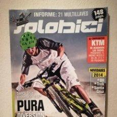 Coleccionismo deportivo: REVISTA - SOLOBICI NUMERO 266 - BICICLETA - BICI DE MONTAÑA - BIKES. Lote 245135810