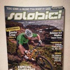 Coleccionismo deportivo: REVISTA - SOLOBICI NUMERO 253 - BICICLETA - BICI DE MONTAÑA - BIKES. Lote 245135825