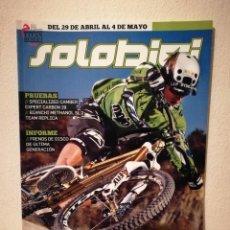 Coleccionismo deportivo: REVISTA - SOLOBICI NUMERO 247 - BICICLETA - BICI DE MONTAÑA - BIKES. Lote 245135885