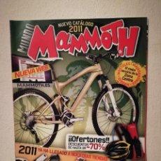 Coleccionismo deportivo: REVISTA - MAMMOTH 2011 NUMERO CATALOGO - BICICLETA - BICI DE MONTAÑA - BIKES. Lote 245136070