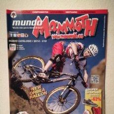 Coleccionismo deportivo: REVISTA - MUNDO MAMMOTH 2014 NUMERO 10 - BICICLETA - BICI DE MONTAÑA - BIKES. Lote 245136085