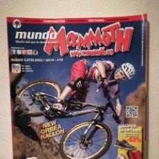 Coleccionismo deportivo: REVISTA - MUNDO MAMMOTH 2014 NUMERO 10 - BICICLETA - BICI DE MONTAÑA - BIKES. Lote 245136095