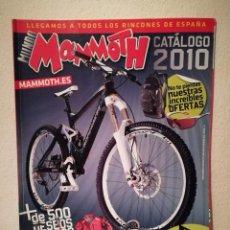 Coleccionismo deportivo: REVISTA - MUNDO MAMMOTH 2010 NUMERO CATALOGO - BICICLETA - BICI DE MONTAÑA - BIKES. Lote 245136110