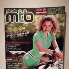 Coleccionismo deportivo: REVISTA - PLANETA MTB UBIÑA NUMERO - BICICLETA - BICI DE MONTAÑA - BIKES. Lote 245136145