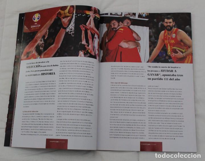 Coleccionismo deportivo: LOTE REVISTA GIGANTES DEL BASKET. Nº 1088 1089 1489 ESPAÑA CAMPEÓN DEL MUNDO BALONCESTO 2006 y 2019. - Foto 18 - 213546600