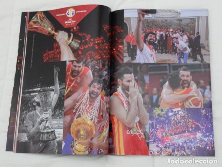 Coleccionismo deportivo: LOTE REVISTA GIGANTES DEL BASKET. Nº 1088 1089 1489 ESPAÑA CAMPEÓN DEL MUNDO BALONCESTO 2006 y 2019. - Foto 21 - 213546600