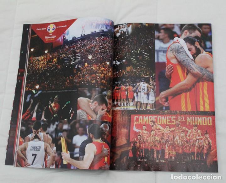 Coleccionismo deportivo: LOTE REVISTA GIGANTES DEL BASKET. Nº 1088 1089 1489 ESPAÑA CAMPEÓN DEL MUNDO BALONCESTO 2006 y 2019. - Foto 22 - 213546600