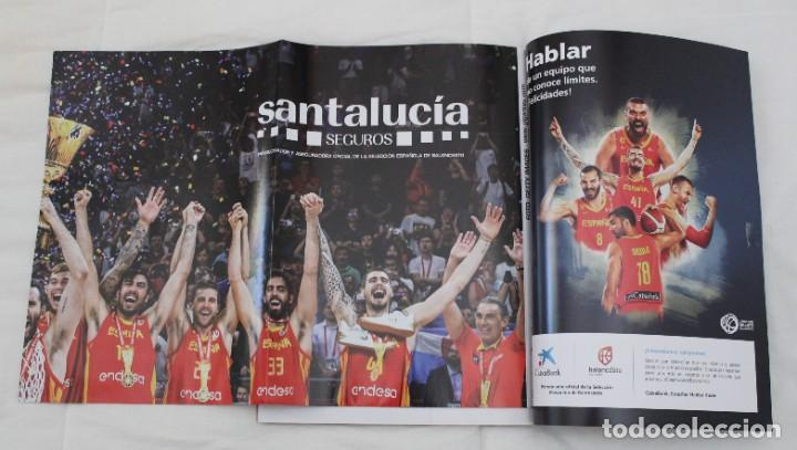 Coleccionismo deportivo: LOTE REVISTA GIGANTES DEL BASKET. Nº 1088 1089 1489 ESPAÑA CAMPEÓN DEL MUNDO BALONCESTO 2006 y 2019. - Foto 3 - 213546600
