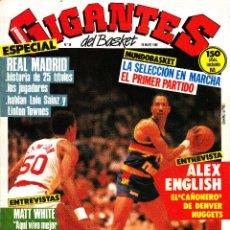 Coleccionismo deportivo: REVISTA GIGANTES DEL BASKET NUMERO 29 REAL MADRID, MUNDOBASKET, NBA. Lote 245462695