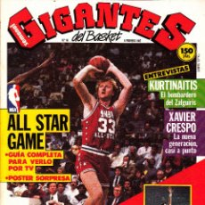 Coleccionismo deportivo: REVISTA GIGANTES DEL BASKET NUMERO 66 NBA ALL STAR GAME. Lote 246363185