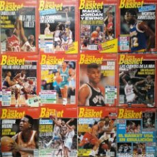 Coleccionismo deportivo: COLECCIÓN DE 56 REVISTAS ''SUPERBASKET'' (1990-1993) - NBA - JORDAN, MAGIC, BIRD, BARKLEY.... Lote 246369595