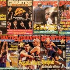 Coleccionismo deportivo: LOTE DE 43 REVISTAS ''GIGANTES DEL BASKET'' (1998-1999) - NBA. Lote 246369610