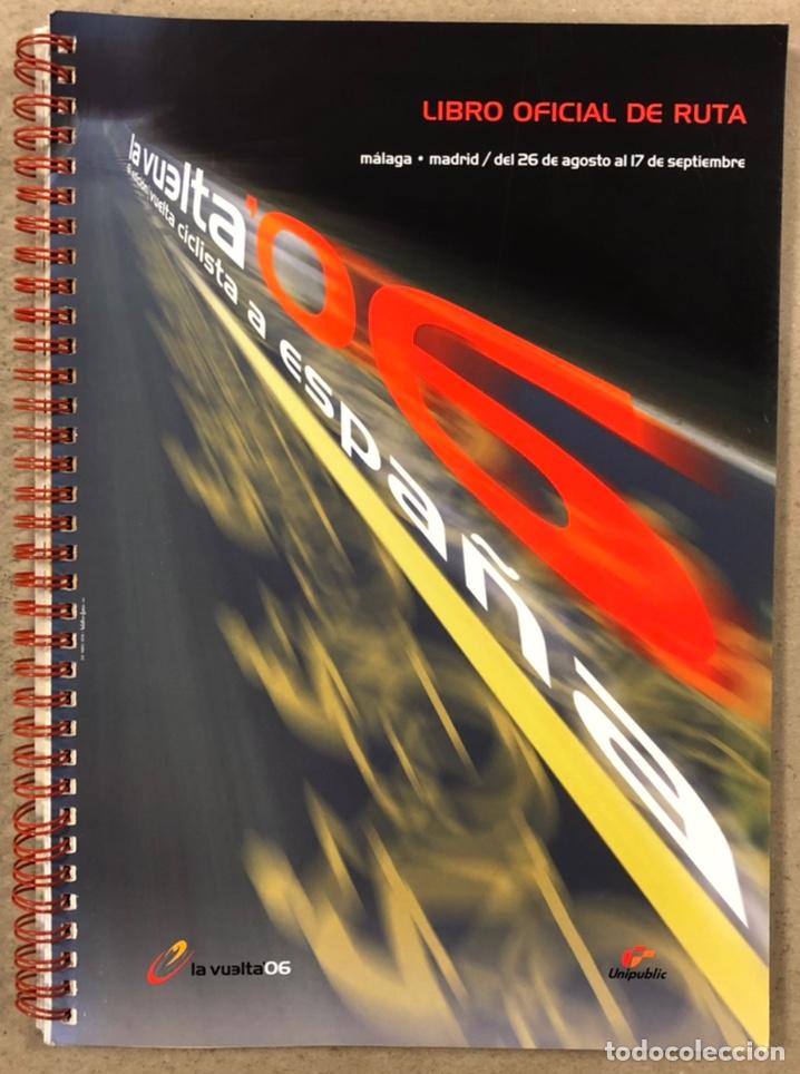 VUELTA A ESPAÑA 2006. LIBRO OFICIAL DE RUTA. (Coleccionismo Deportivo - Revistas y Periódicos - otros Deportes)