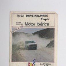 Coleccionismo deportivo: ANTIGUA REVISTA BAJA MONTESBLANCOS - AÑO 1983. Lote 247004665