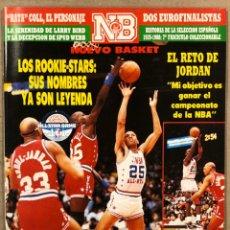 Coleccionismo deportivo: NUEVO BASKET N° 168 (1988). ESPECIAL ALL STAR CHICAGO '88, MICHAEL JORDAN, LARRY BIRD,.... Lote 248303665