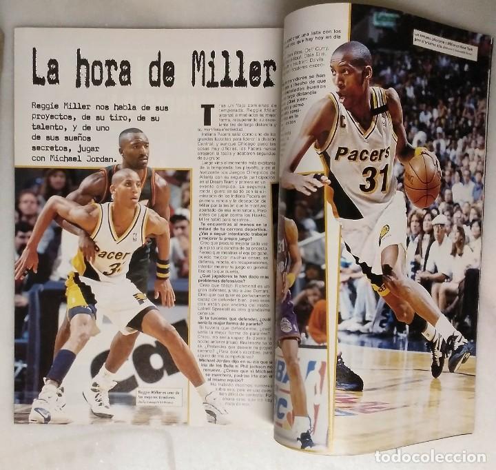 Coleccionismo deportivo: Michael Jordan & Chicago Bulls - Revista Oficial de la NBA - Cuarto anillo (1996) - Récord 72-10 - Foto 6 - 58658706
