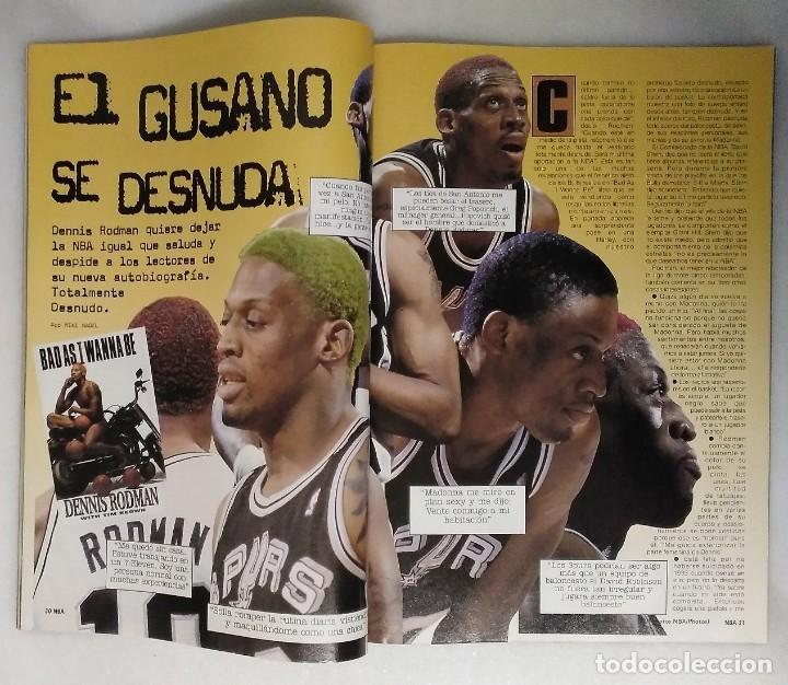 Coleccionismo deportivo: Michael Jordan & Chicago Bulls - Revista Oficial de la NBA - Cuarto anillo (1996) - Récord 72-10 - Foto 7 - 58658706