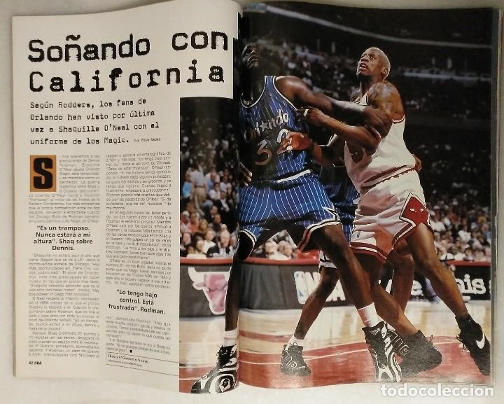 Coleccionismo deportivo: Michael Jordan & Chicago Bulls - Revista Oficial de la NBA - Cuarto anillo (1996) - Récord 72-10 - Foto 8 - 58658706