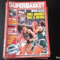 Coleccionismo deportivo: LOTE 26 REVISTAS DE SUPERBASKET. Lote 253134765