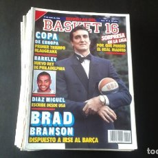 Coleccionismo deportivo: LOTE DE 26 REVISTAS BASKET 16. Lote 253136390