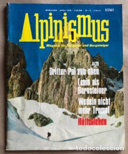 ALPINISMUS, ABRIL 1970. REVISTA DE ALPINISMO ALEMANA. (Coleccionismo Deportivo - Revistas y Periódicos - otros Deportes)