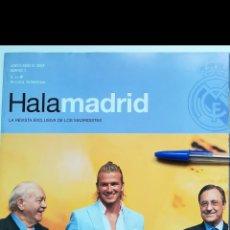Coleccionismo deportivo: REVISTA HALA MADRID NÚMERO 7 DAVID BECKHAM REAL MADRID 2003. Lote 254413135