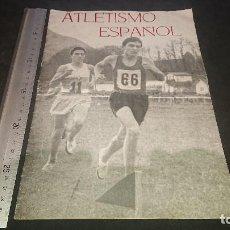 Coleccionismo deportivo: AMTIGUA REVISTA , ATLETISMO ESPAÑOL 1956 , PUBLICACION OFICIAL DE LA REAL FEDERAC , LEER DESCRIPCION. Lote 254463650
