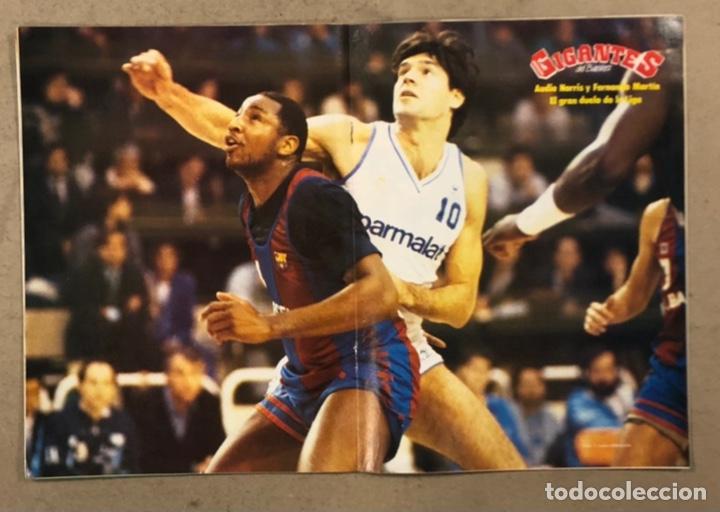 Coleccionismo deportivo: GIGANTES DEL BASKET N° 133 (1988). POSTER FERNANDO MARTÍN Y AUDIE NORRIS, FINAL MADRID Vs BARÇA, NBA - Foto 2 - 254971055