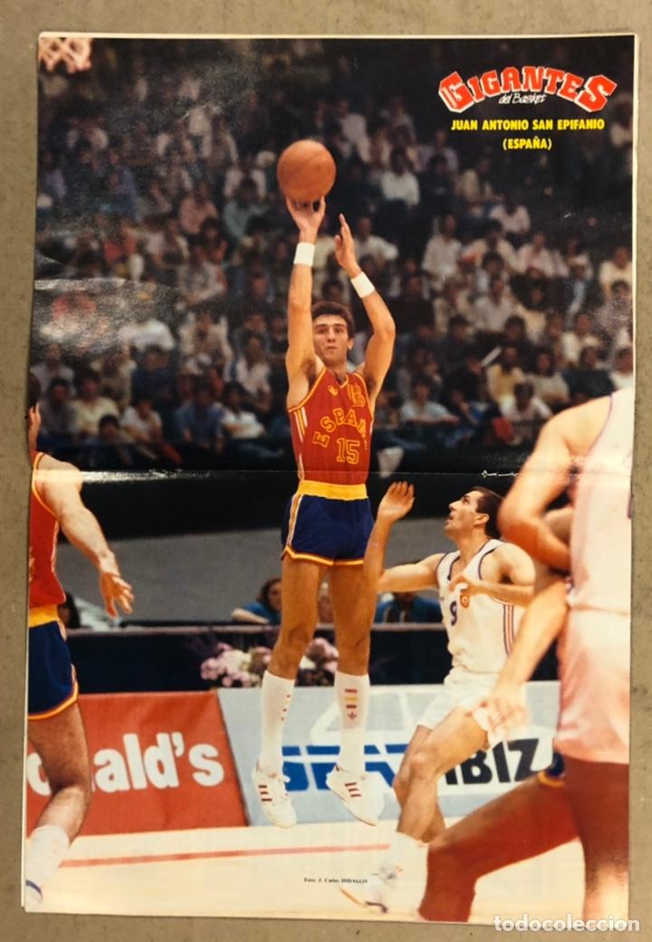 Coleccionismo deportivo: GIGANTES DEL BASKET N°150 (1988). ESPECIAL SEÚL, POSTER DE EPI, CORBALÁN,... - Foto 2 - 254976305