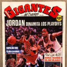 Coleccionismo deportivo: GIGANTES DEL BASKET N°185 (1989). MICHAEL JORDAN, POSTER CHARLES BARKLEY (SIXERS),.... Lote 254979390