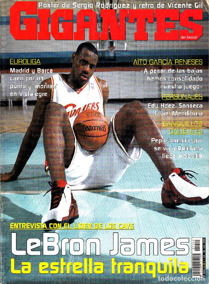 REVISTA GIGANTES NUMERO 1011 LEBRON JAMES (Coleccionismo Deportivo - Revistas y Periódicos - otros Deportes)