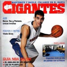 Coleccionismo deportivo: REVISTA GIGANTES DEL BASKET NUMERO 1043 CALDERÓN, EN EL UNIVERSO DE PAU. Lote 255464565