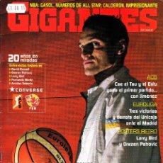 Coleccionismo deportivo: REVISTA GIGANTES DEL BASKET NUMERO 1045 IGOR RAKOCEVIC. Lote 255468345