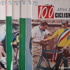 Coleccionismo deportivo: 100 AÑOS DE CICLISMO COMPLETA 20 NUMEROS IBERICO EUROPEA 1970. Lote 255576510