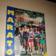 Coleccionismo deportivo: MARATÓN, LA REVISTA DEL CORREDOR. AÑO I NÚMERO 1 - 1992. Lote 257907060