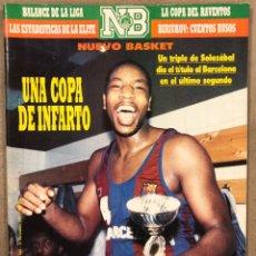 Coleccionismo deportivo: NUEVO BASKET Nº 164 (1987) BARCELONA CAMPEON COPA (TRIPLE SOLOZABAL), BIRIUKOV, SEMENOVA,... Lote 258156945