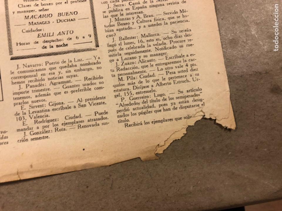 Coleccionismo deportivo: REVISTA BOXEO N° 551 (1935). PAULINO UZCUDUN Vs JOE LOUIS, JULIÁN ECHEVERRIA, SANGCHILI, SAGARRA SAR - Foto 6 - 260077495