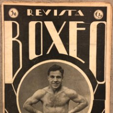 Coleccionismo deportivo: REVISTA BOXEO N° 541 (1935). LISTAS THE RING, JOE LOUIS, VASQUITO ECHEVERRIA, SANGCHILI, JOSÉ BLÁZQU. Lote 260080790