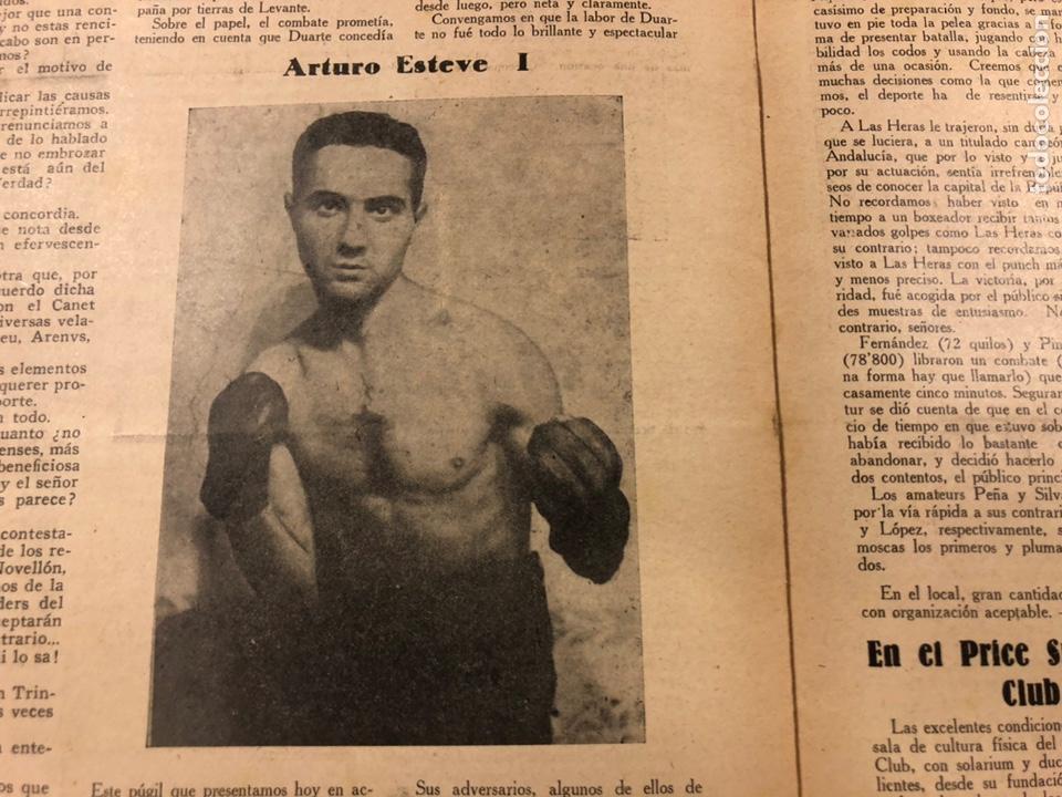 Coleccionismo deportivo: REVISTA BOXEO N° 556 (1935). HILARIO MARTÍNEZ, SATURNINO LÓ, PAULINO UZCUDUN, PUÉRTOLAS,... - Foto 10 - 260081580