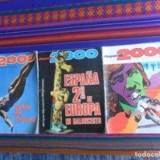 Coleccionismo deportivo: DEPORTE 2000 46 ÁNGEL NIETO 58 PÓSTER SELECCIÓN ESPAÑA BALONCESTO 79-80 EXTRA DE VERANO 1975. RARAS.. Lote 261808525