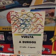 Coleccionismo deportivo: REVISTA OFICIAL DE LA XV VUELTA CICLISTA A BURGOS...1993..... Lote 261914830