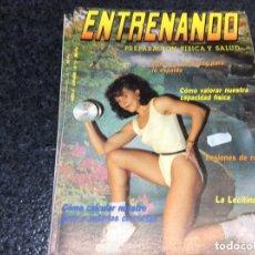 Coleccionismo deportivo: ENTRENANDO Nº 5 PREPARACION FISICA Y SALUD -EDITADA : DECIMO DAN. Lote 261964115