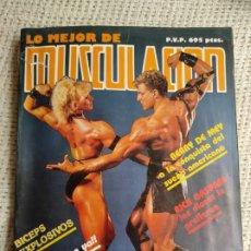 Coleccionismo deportivo: REVISTAS DE CULTURISMO - LO MEJOS DE MUSCULACION TOMO CON Nº 1,2,3,4. Lote 262059320