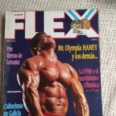 Coleccionismo deportivo: CULTURISMO - FLEX Nº 14 OLYMPIA HANEY -ED. RAFAEL SANTONJA. Lote 262062510