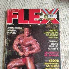Coleccionismo deportivo: CULTURISMO - FLEX FEBRERO 1988 -ED. RAFAEL SANTONJA. Lote 262062695