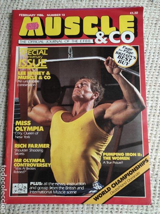 MUSCLE & CO. Nº 13 BODYBUILDING MAGAZINE /MARTIN ALAMANGO/ LEE HANEY 1986 (Coleccionismo Deportivo - Revistas y Periódicos - otros Deportes)